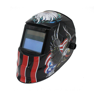 MX-J Auto Darkening Welding Helmet with eagle